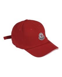 کلاه کپ اسپرت پسرانه Moncler رنگ قرمز
